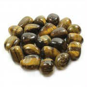 "Tiger Eye 36"" Gemstone Chip Necklace"