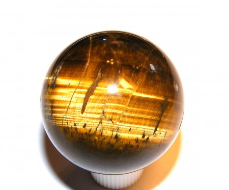 Tiger Eye Gemstone Sphere - 40mm