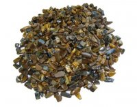 Tiger Eye Tumbled Chip Pack - 50gms