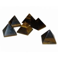 Tiger Eye Gemstone / Crystal Pyramid