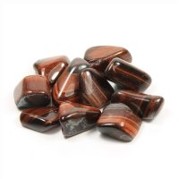 Tiger Eye Tumblestone freeform shape - Large