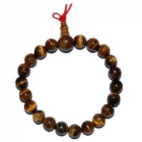 Tiger Eye Gemstone Crystal Power Bracelet