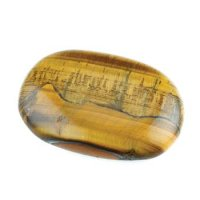 Tiger Eye Polished Gemstone Smooth / Worry Stone