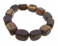 Tigers Eye Tumblestone Gemstone Bracelet