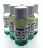 Turquoise Gemstone Oil Healing Protection