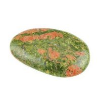 1 Inch to 2 Inch Unakite Polished Smooth Stone