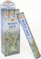 White Sage Incense Sticks - pack of 20