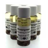Wintergreen Oil / 10Ml / Hex Breaking + Healing