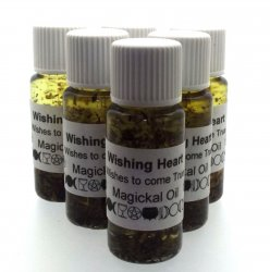 Wishing Heart Oil - For Your Wishes To Come True