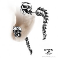 Wraith Spine Faux Ear Stretcher Stud