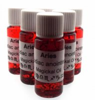 Aries Zodiac Magickal Oil