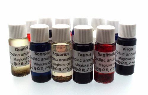 Full Set Of 12 Zodiac Magickal Oil