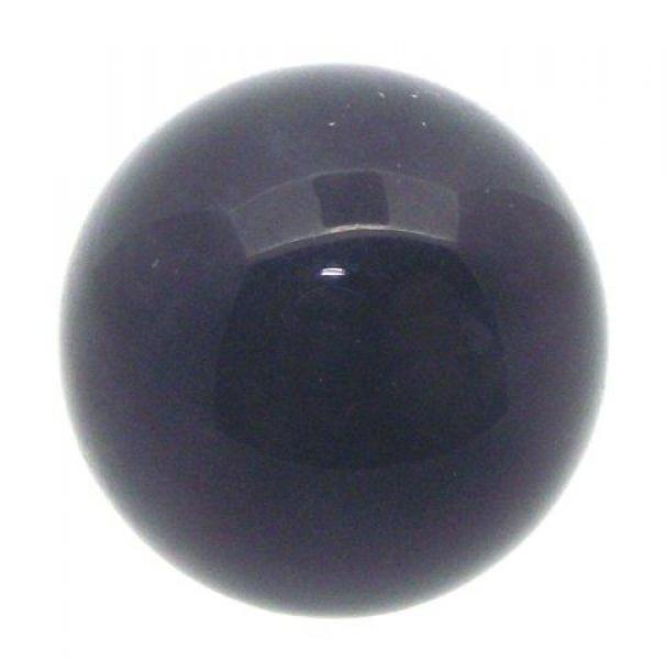 25mm Black Obsidian Gemstone Sphere