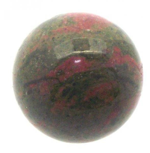 25mm Unakite Gemstone Sphere