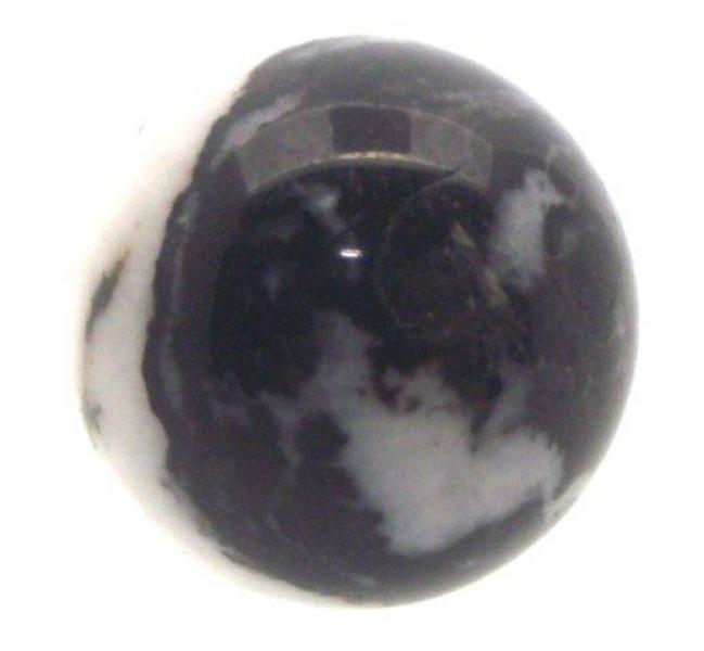25mm Zebra Agate Gemstone Sphere