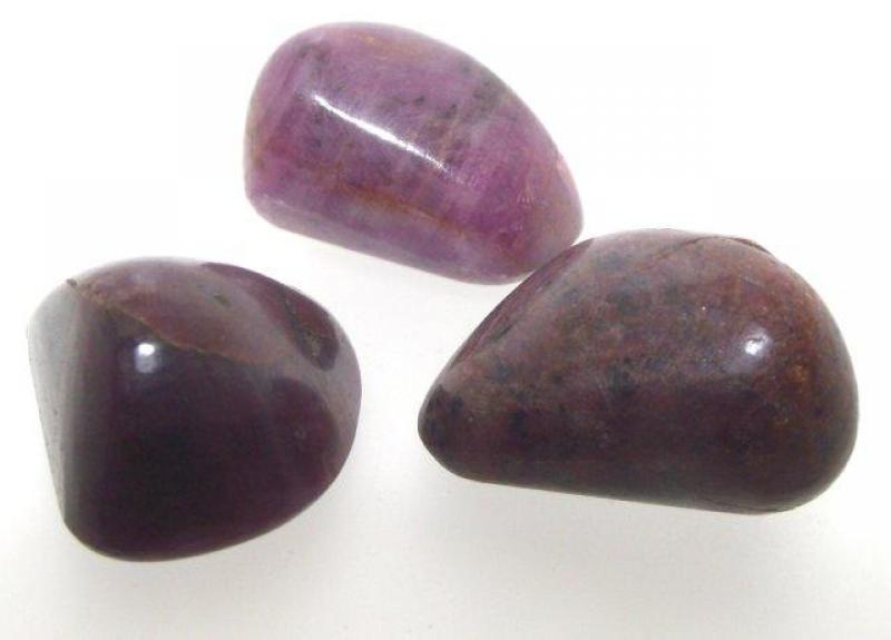 Genuine Indian Ruby Extra Large Sized Tumbled Gemstone