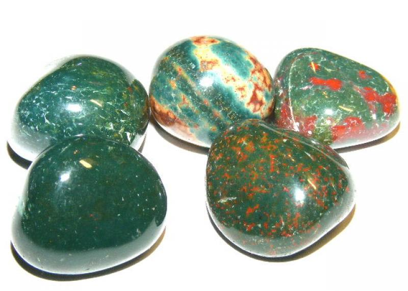 Bloodstone Tumbled Gemstone / Crystal