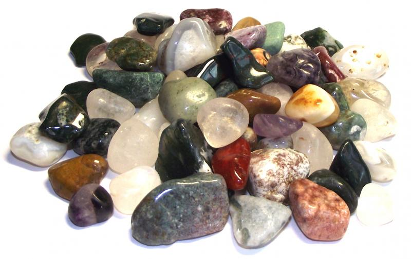500Gm Pack Of Tumbled Gemstones