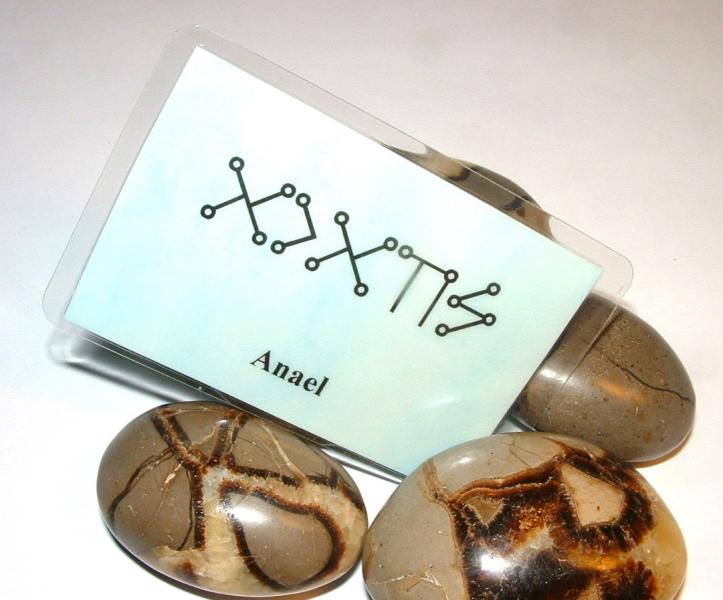 Anael Angel Script Talisman Card Sensual Energy + Love