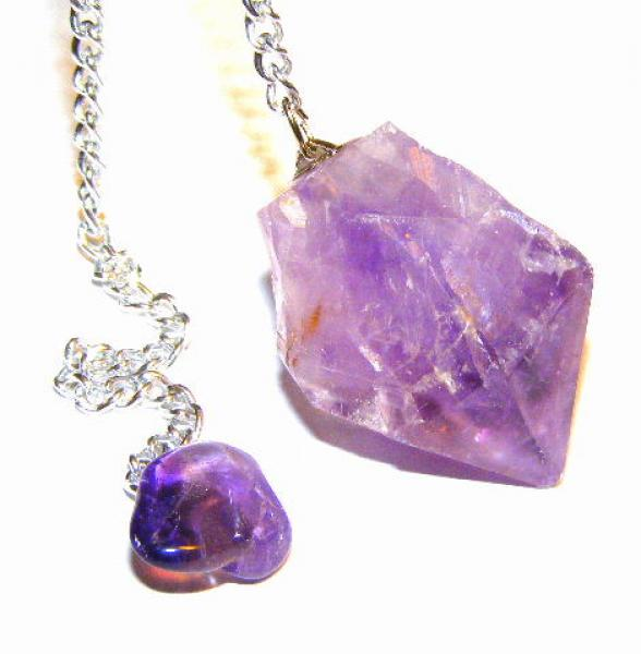 Amethyst Natural Point Dowser / Pendulum
