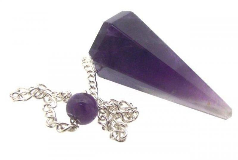 Amethyst Pendulum for Divination