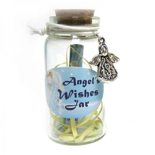 Angel Wishing Jar