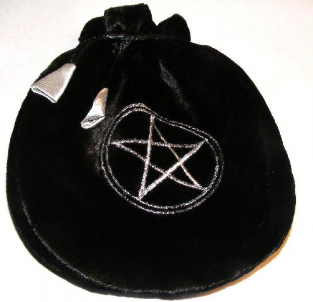 Black Pentacle Tarot Bag