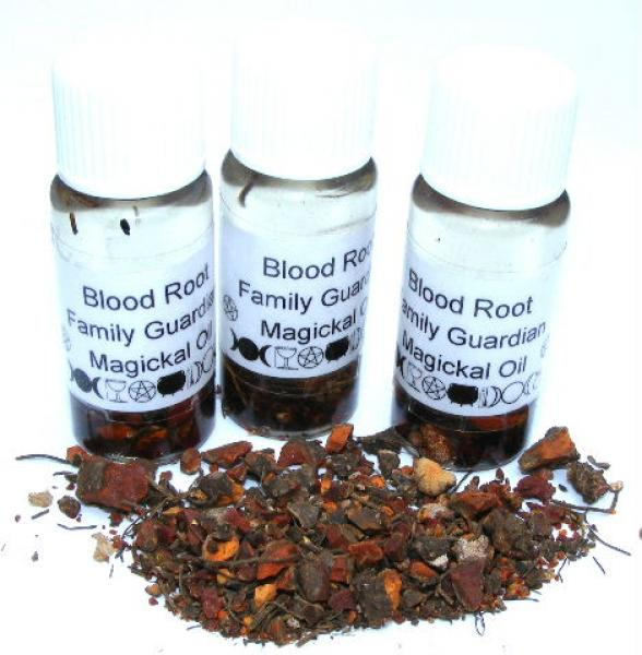 Bloodroot Magickal Oil Family Guardian