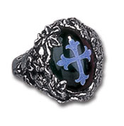 Cemetary Pewter Ring