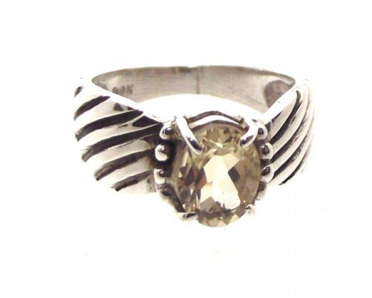 Citrine Ring Size R