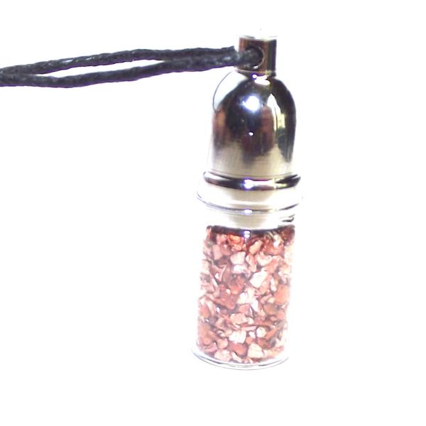 Copper Mojo Bottle Pendant Energy Healing