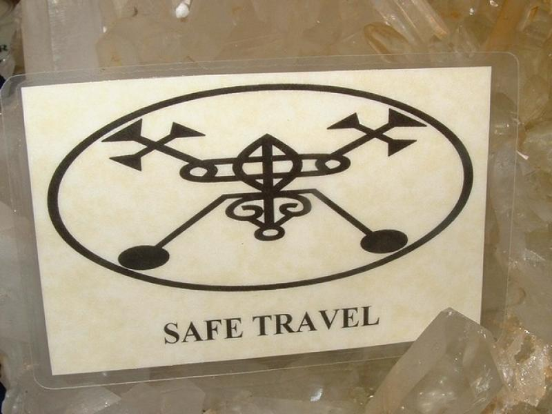 Safe Travel Talisman