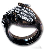 Deadly Friendship Ring - size Y