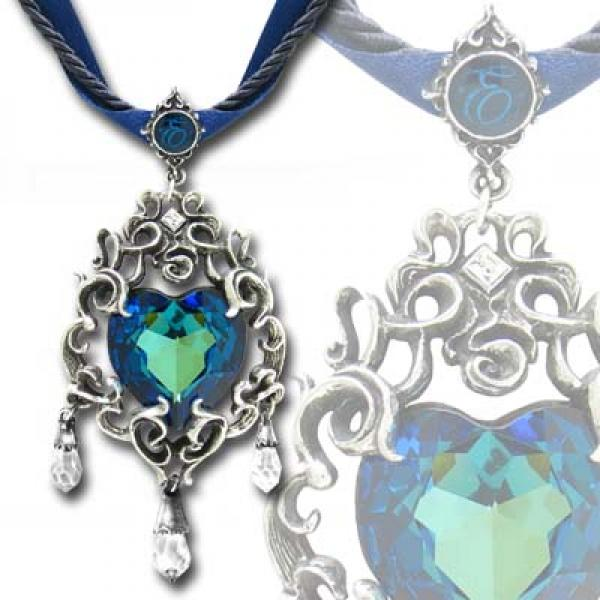 Empress Eugenie's Blue Heart Diamond Alchemy Gothic