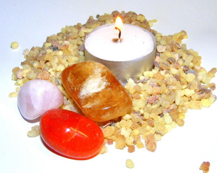 Frankincense Incense Granules - Cleanse And Smudge