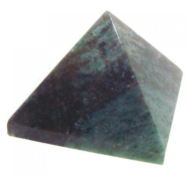 Gemstone Small Carved Pyramid