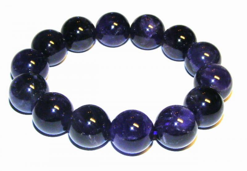 Amethyst Bracelet New Crystal Healing 16Mm