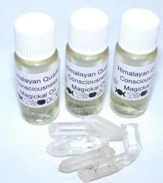 Himalayan Quartz Gemstone Oil for Spiritual consciousness