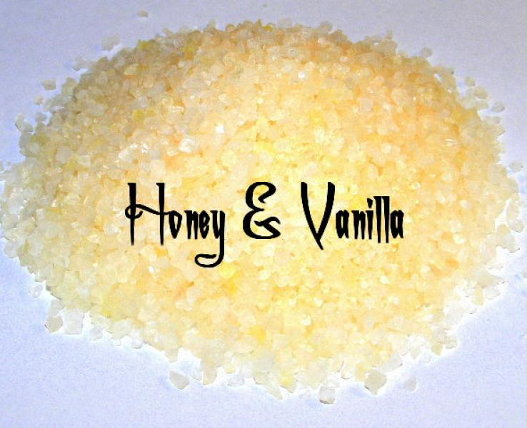 Honey And Vanilla Bath Salts 100Gms