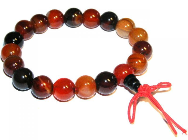 Indian Agate Power Bracelet
