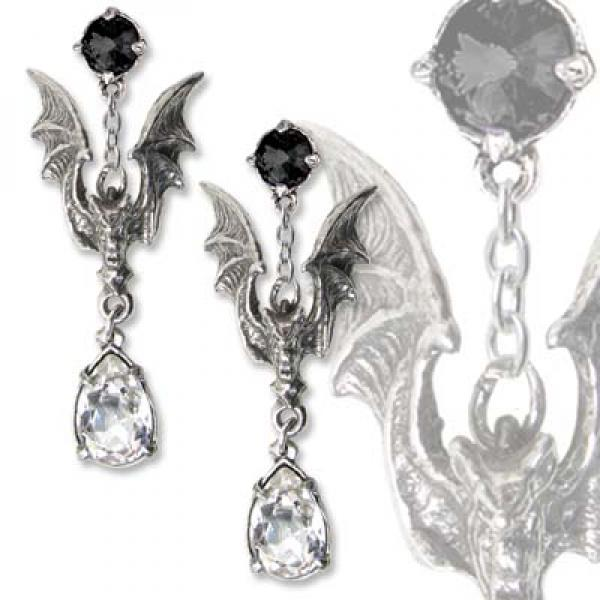 La Nuit Alchemy Gothic Pewter (Pair) Earrings