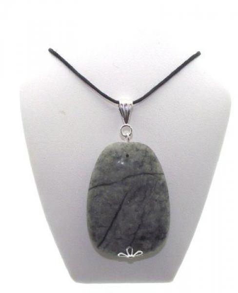 Large Jungle Jasper Pendant