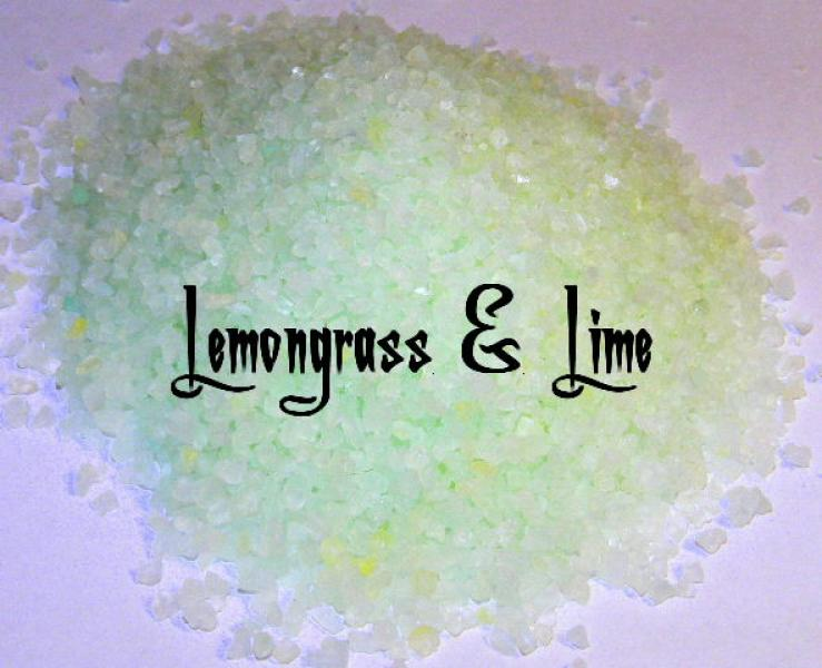 Lemongrass And Lime Bath Salts 100Gms