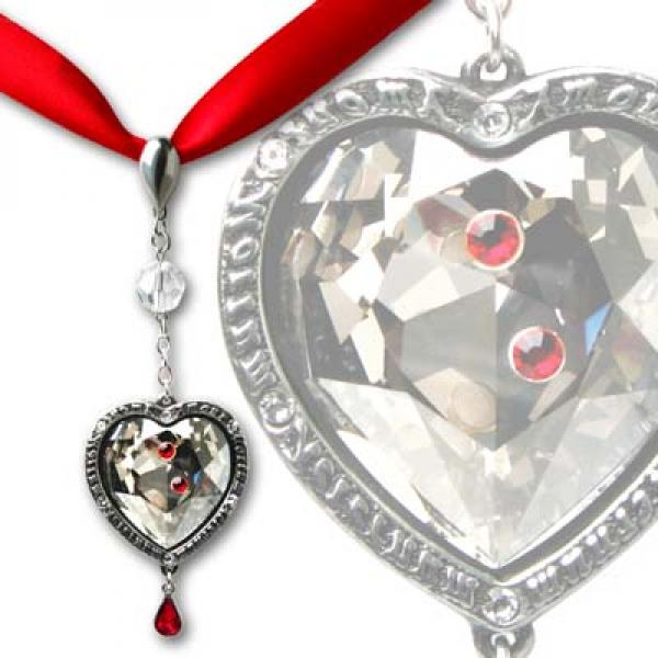 Love After Death Crystal Pendant - Alchemy Gothic