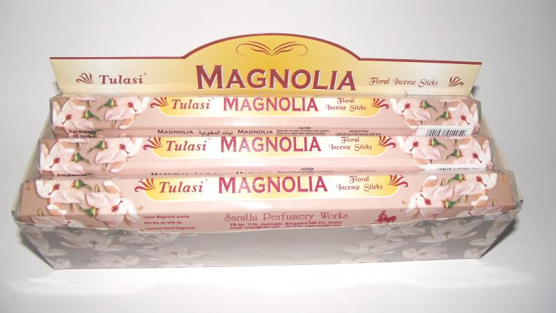 Magnolia Incense - Box Of 120 Sticks - TULASI