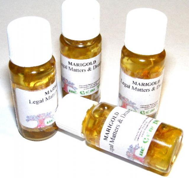 Marigold Herb Magickal Oil Wicca/Pagan/Spell/Witch