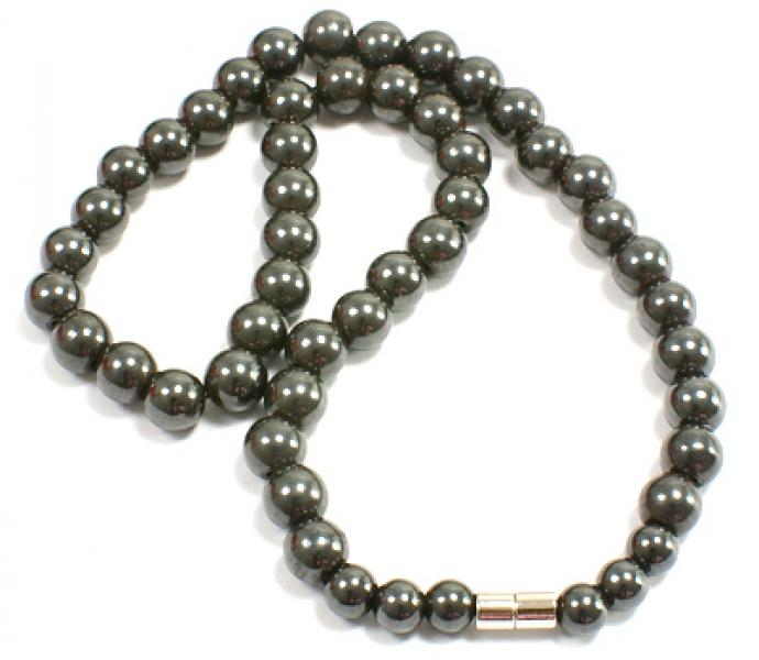 Magnetic Hematite Power Necklace