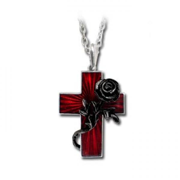 Order Of The Black Rose Pendant Alchemy Gothic