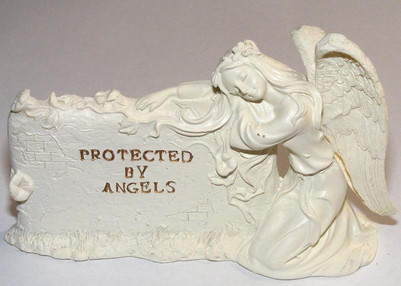 Protected By Angels - Angel Plaque