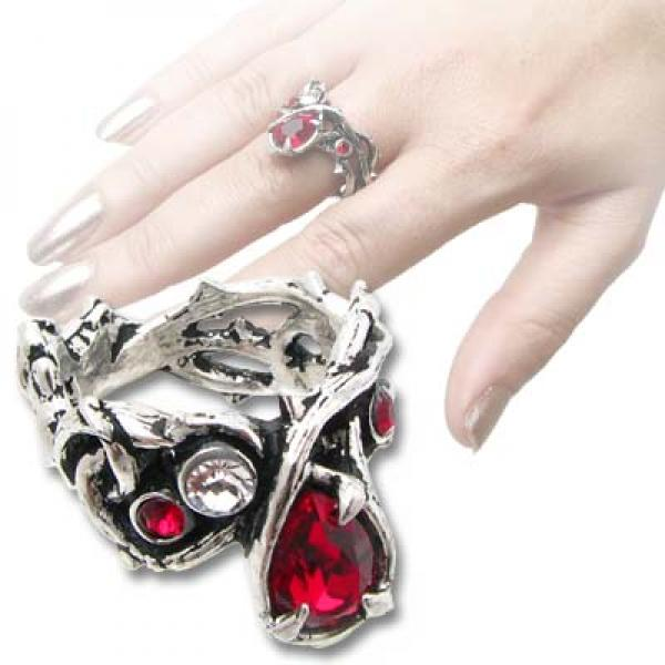 Passion Alchemy Gothic Pewter Ring